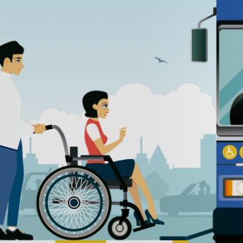 Cultura cívica en el transporte público